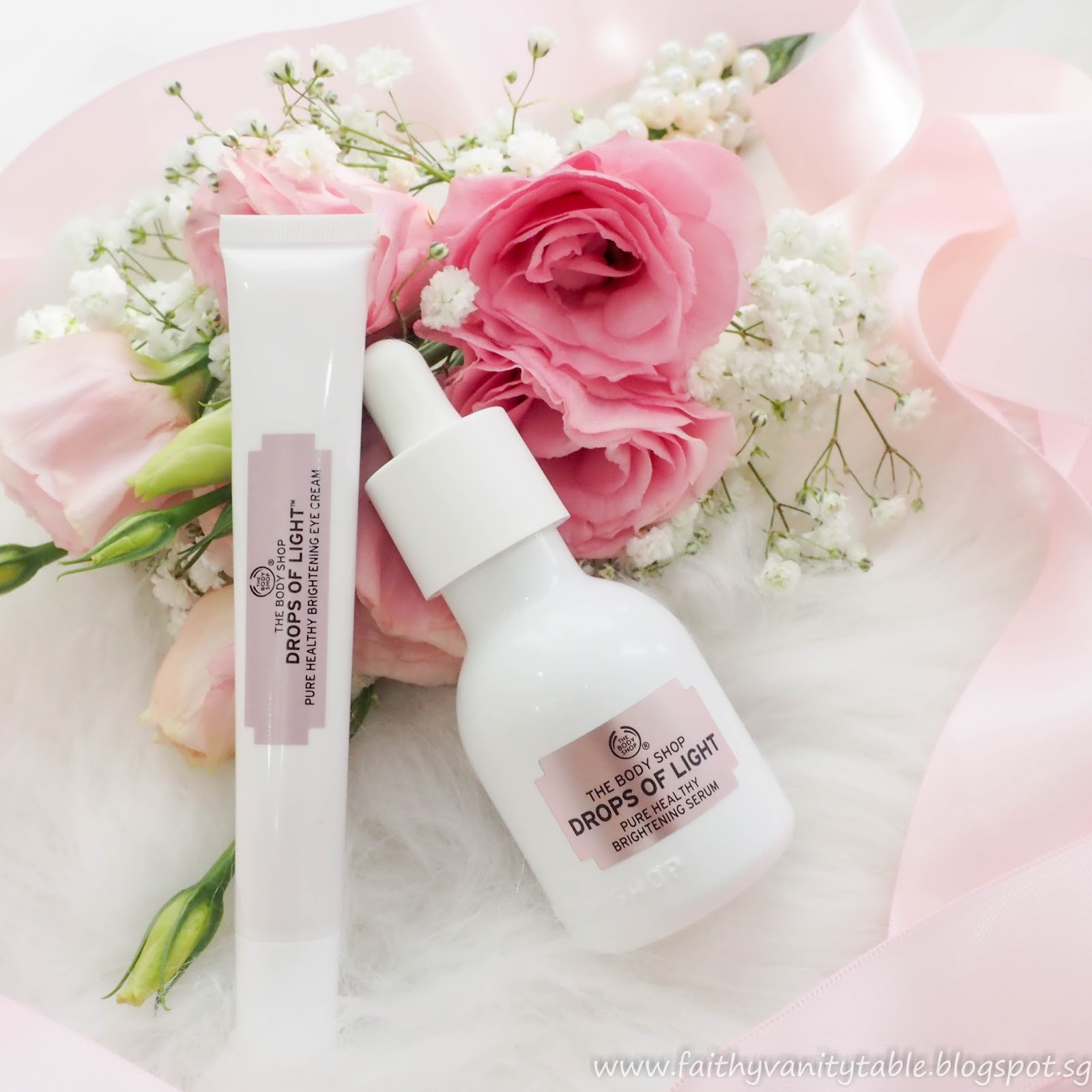 Body Shop Drop Of Light Day Cream Review: Singapore Beauty, Travel And Lifestyle Blog: Review Of The