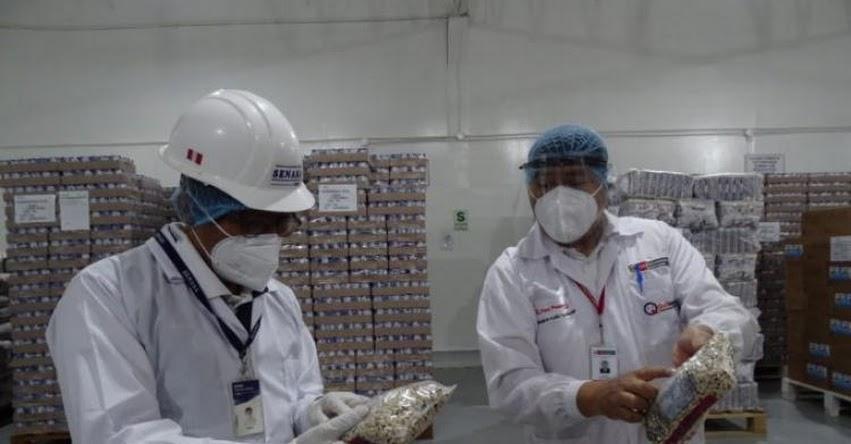 Qali Warma y Senasa verifican calidad e inocuidad de alimentos que serán consumidos por escolares de Piura