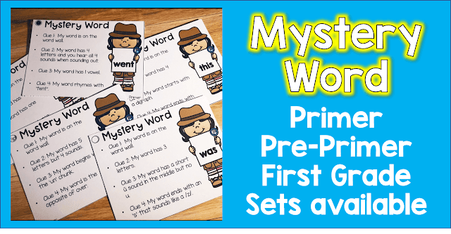 practice your sight words the right way.  Use Mystery word to get students to really look carefully at sight words to solve the clues.