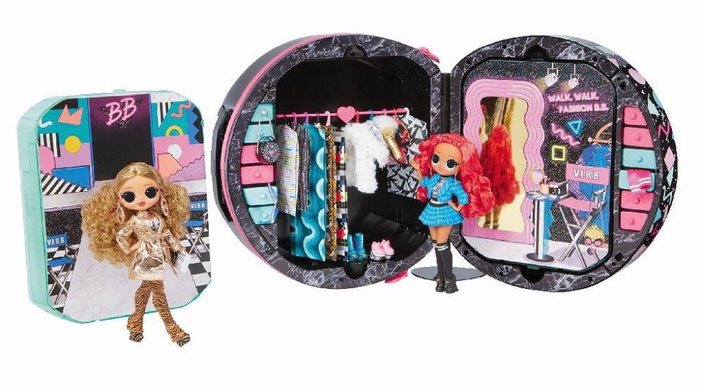 Чемодан на колесах шкаф L.O.L. Surprise O.M.G. Fashion Closet