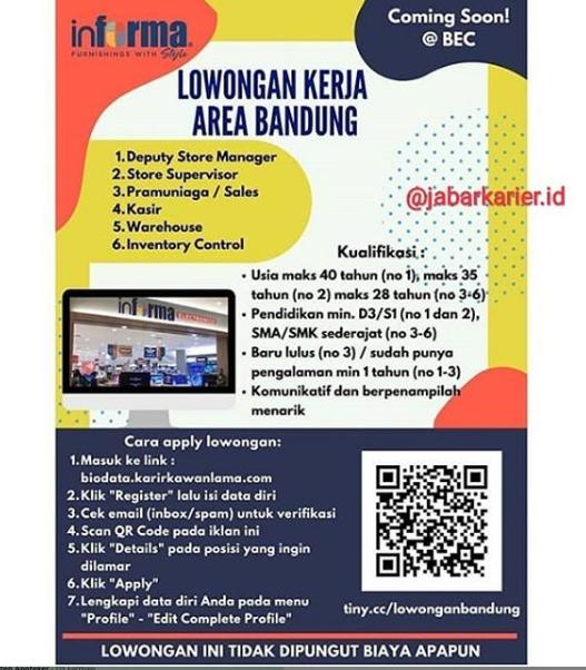 Lowongan Kerja Freelance Bandung 2019