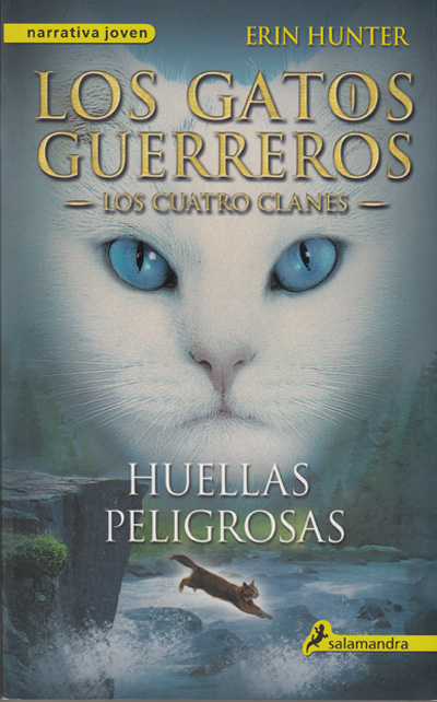 libro gatos guerrero de Erin Hunter