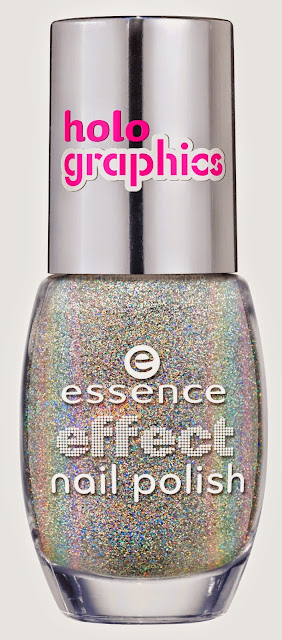 top coat olografico essence - holo graphics