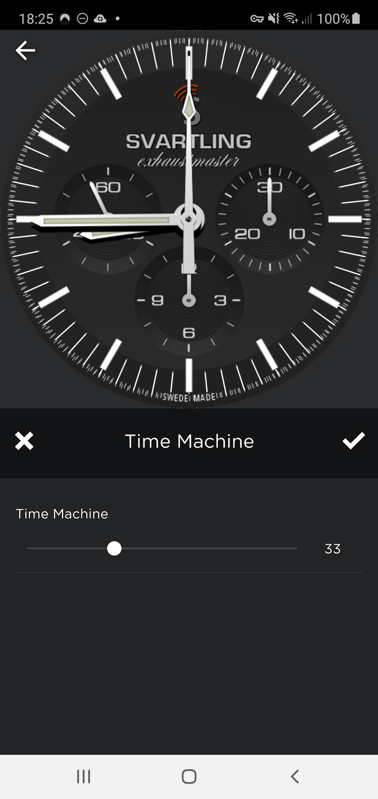 My latest FREE Watch Face: SVARTLING Exhaustmaster for both Wear OS watches and Galaxy watches