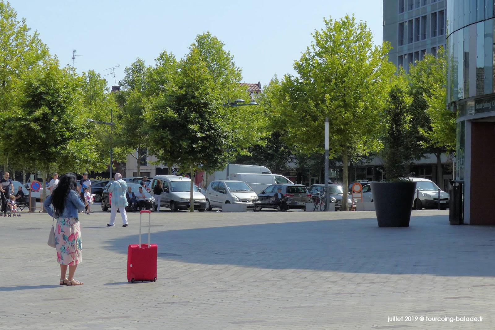 Arbres en ville - Place de la Résistance, Tourcoing 2019