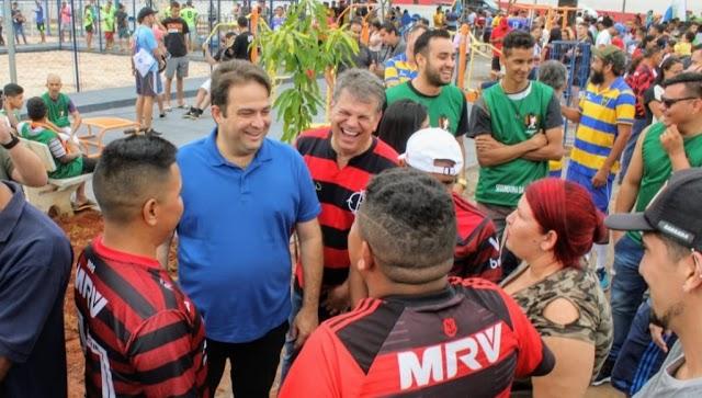 Anápolis: Complexo Esportivo é inaugurado durante abertura do 1ª Copão Miguel Squeff