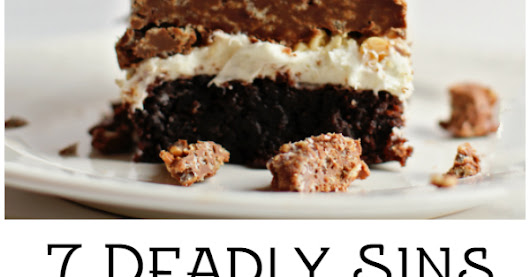 7 Deadly Sins Brownie Bars