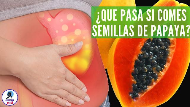Esto Pasa en Tu Cuerpo Cuando Comes Semillas de Papaya