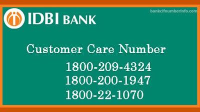IDBI Bank customer care