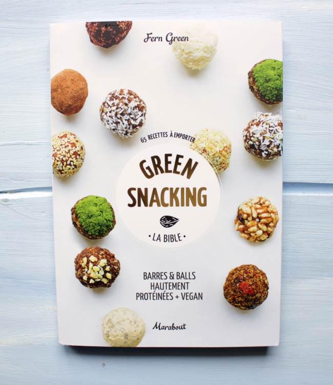 green snaking recettes proteines vegan livre