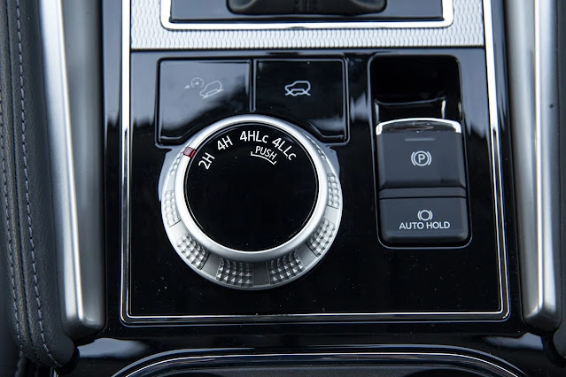 4WD selector