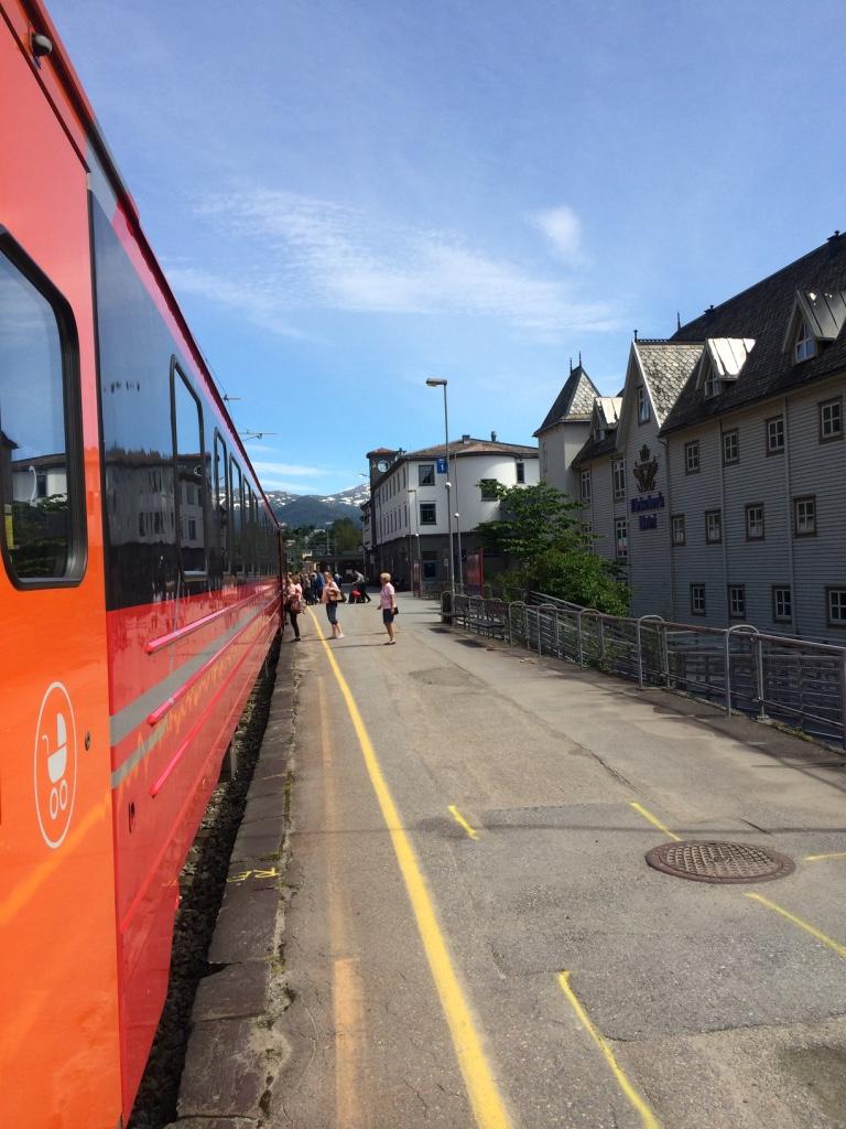oslo bergen train journey