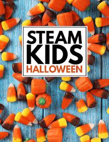 STEAM Kids Halloween- Fun Halloween science, technology, engineering, art, and math ideas for kids 4-10