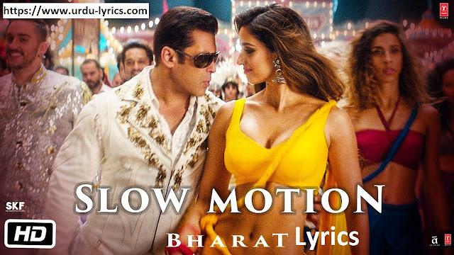 Slow Motion Song Lyrics - Nakash Aziz & Shreya Ghoshal