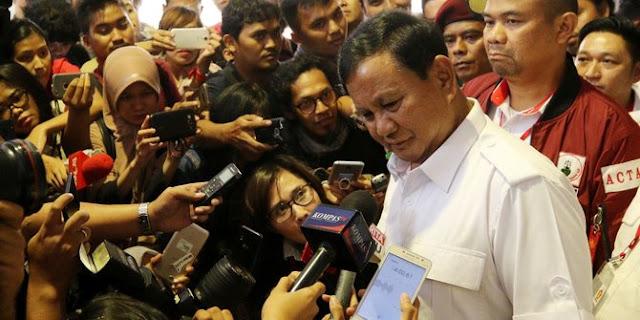 Ini Dia 6 Calon Pendamping Prabowo pada Pilpres 2019