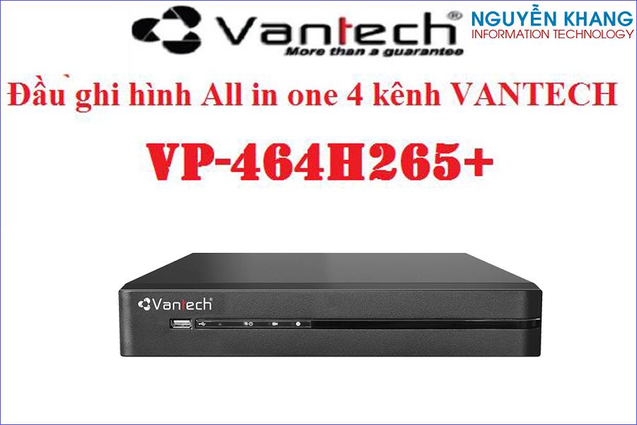 Đầu ghi hình Vantech VP-464H265+ All in one