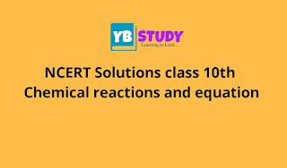 science Chemical reactions and equation