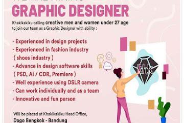 Lowongan Kerja Graphic Designer Khakikaiku.com