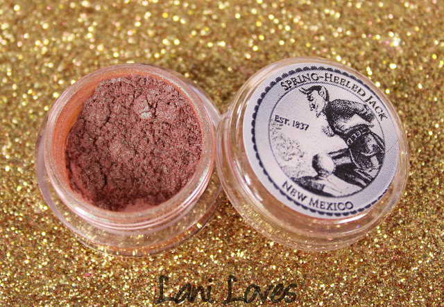 Notoriously Morbid Spring-heeled Jack eyeshadow swatches & review
