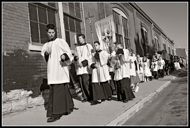 Northside; Cincinnati; Procession; Catholic