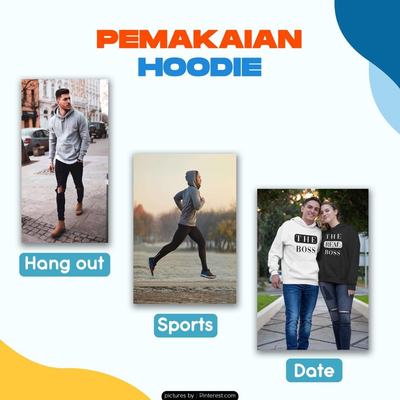 Pemakaian Hoodie Sport