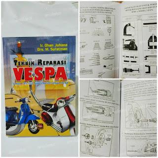 Buku Panduan / Teknik Reparasi Vespa/versi terbaru