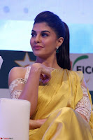 Gorgeous Jacqueline Fernandez  in yellow saree 26.JPG