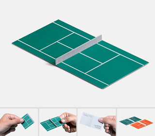 tennis namecard