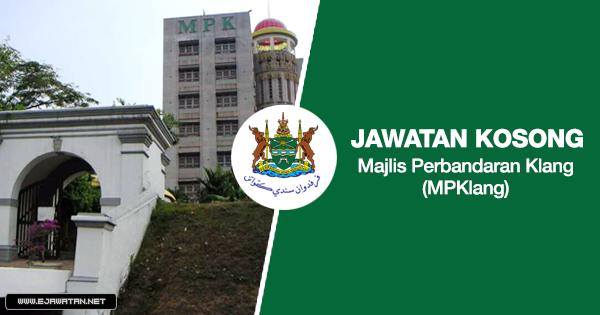 jawatan kosong kerajaan Majlis Perbandaran Klang 2020