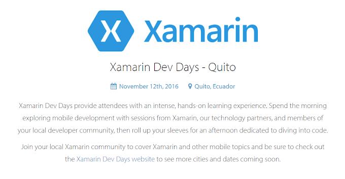 Xamarin Dev Days