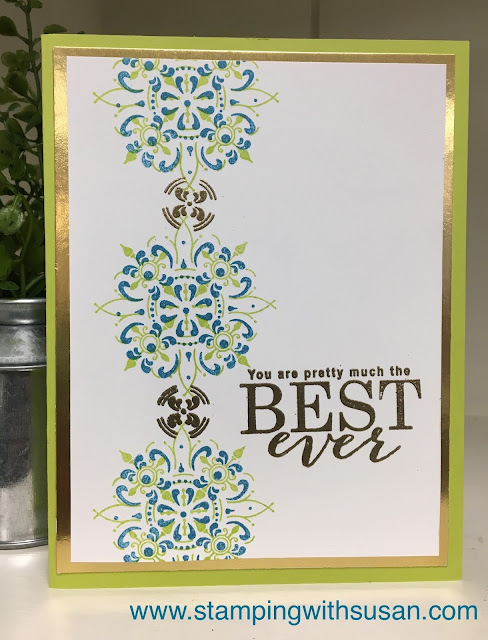 Stampin' Up!, All Adorned, Embossing Powder, Stamparatus, www.stampingwithsusan.com, 2019 Sale-A-Bration,