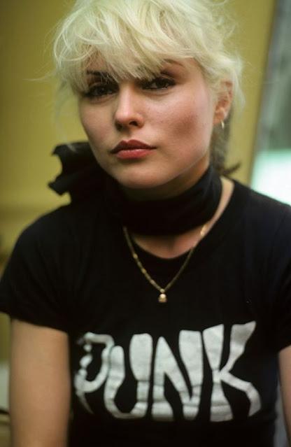 Blondie Debbie Harry PUNK tee shirt.  PYGear.com