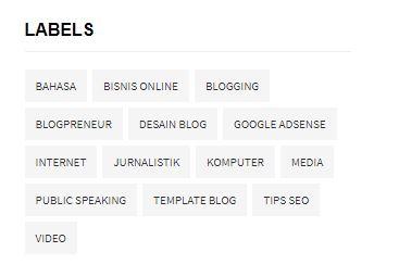 Cara Mengatur Jumlah Postingan di Halaman Label Blog