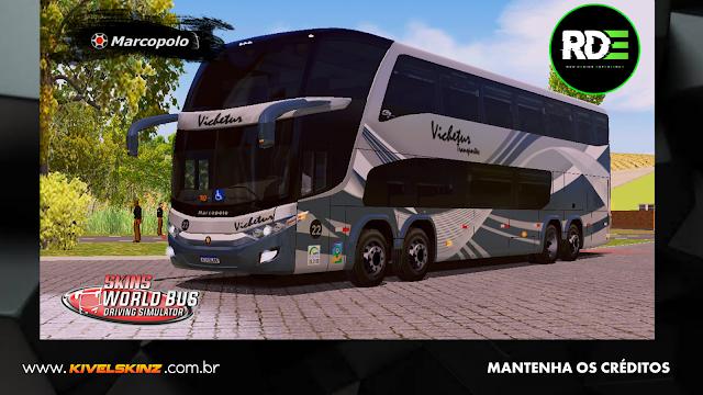 PARADISO G7 1800 DD 8X2 - VIAÇÃO VICHETUR TRANSPORTES