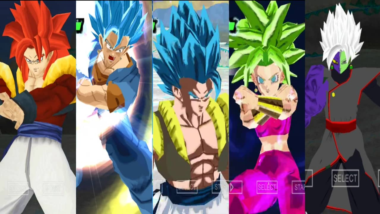 Dragon Ball Super all Fusions