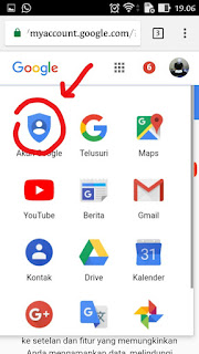 cara merubah kata sandi gmail