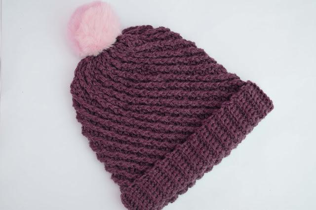 2-Crochet Imagenes Gorro con puntada en relieve a crochet y ganchillo por Majovel Crochet