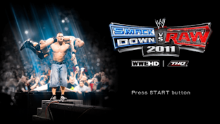 WWE SmackDown Vs Raw 2011 (USA) ISO PPSSPP Terbaru