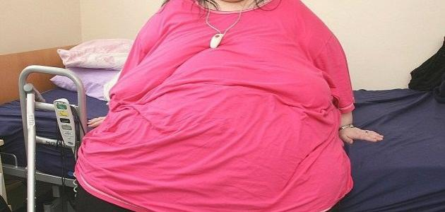 The fattest woman in the world