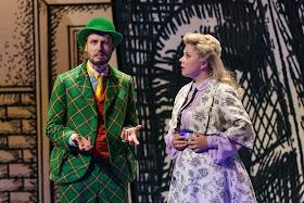 Mozart: The Magic Flute - Björn Bürger, Sofia Fomina - Glyndebourne (Photo Glyndebourne Productions Ltd. / Bill Cooper)