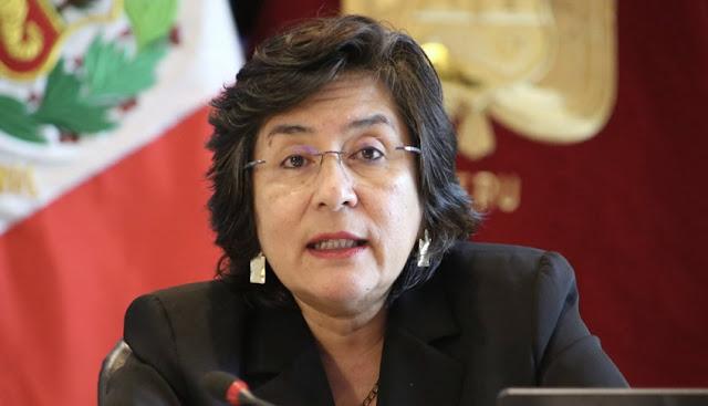 Ledesma será la ponente ante denucnia contra vacancia de Vizcarra