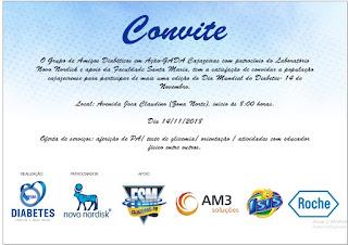 Grupo de Apoio a Pessoas com Diabetes realizará 7° Edição do Dia Mundial do Diabetes em Cajazeiras