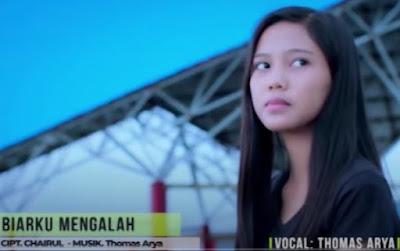 Lirik Lagu Pof Malaysia Thomas Arya - Biar ku Mengalah