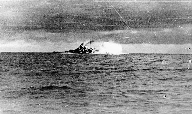 Battleship Bismarck Battle of Denmark Strait 24 May 1941 worldwartwo.filminspector.com