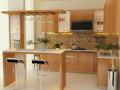 Tips Dan Kiat Menciptakan Interior Kitchen Set Minimalis