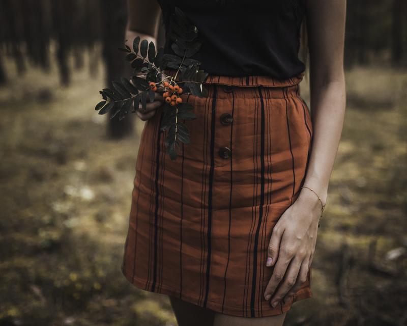 spodniczka z croppa