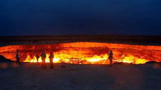 Door to hell in Turkmenistan Derweze