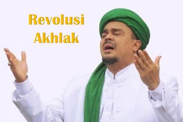 Kebohongan Revolusi Akhlak ala Rizieq