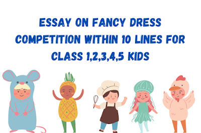 Essay on Fancy Dress Competition
