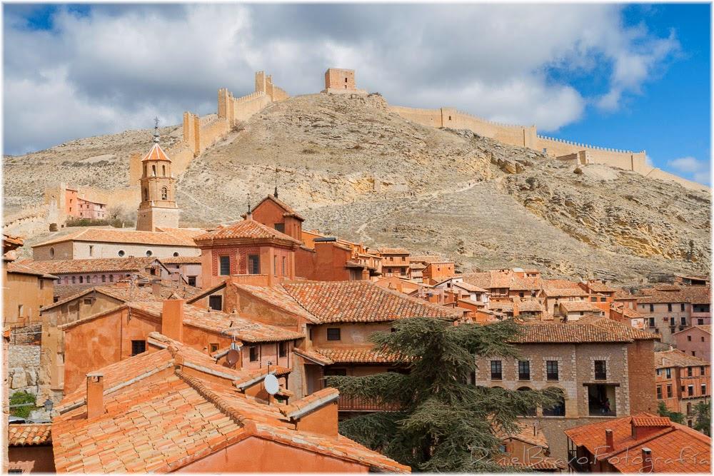 Albarracín, Teruel, muralla, castillo